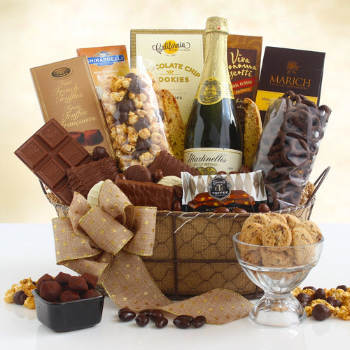 Elegant Chocolate Sparkler - Vogue Gift Baskets