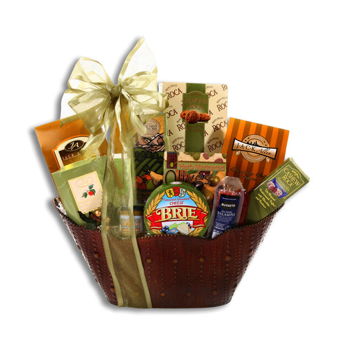 Bronze Brie Basket