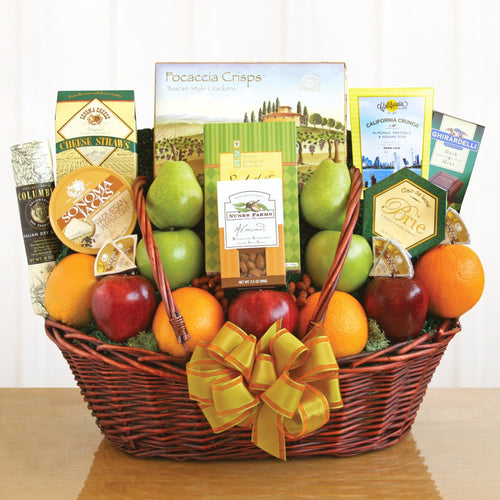 Fruit and Cheese and Beyond - Vogue Gift Baskets