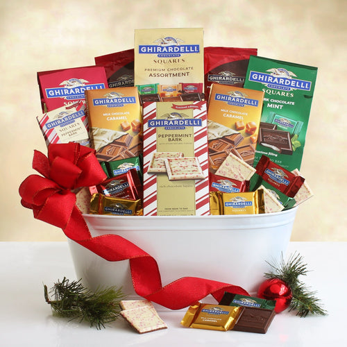 Ghirardelli Dream Holiday - Vogue Gift Baskets