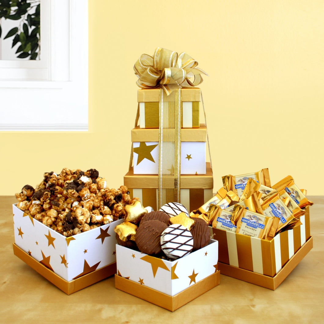 Glam Tower - Vogue Gift Baskets