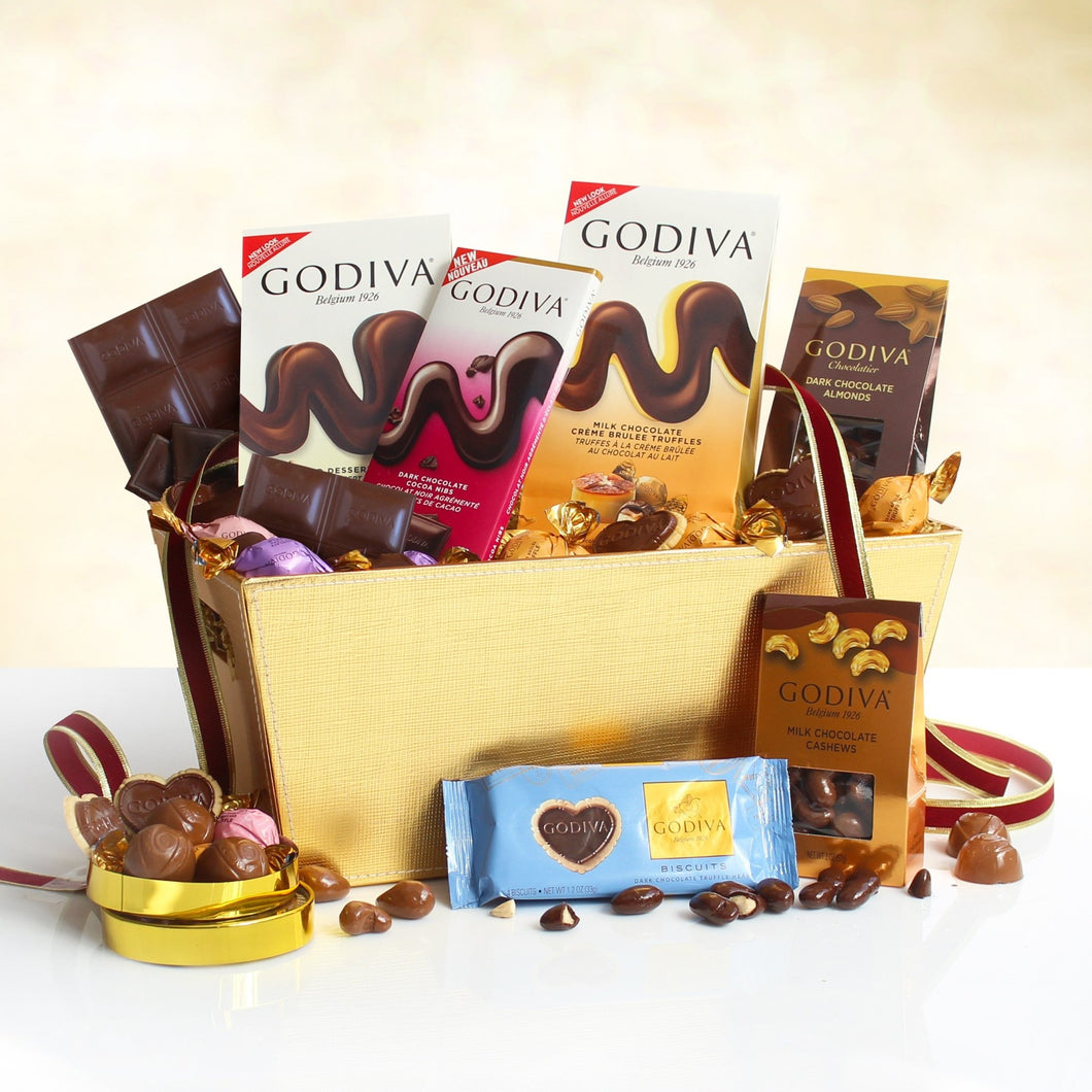 Godiva Chocolate Expressions - Vogue Gift Baskets