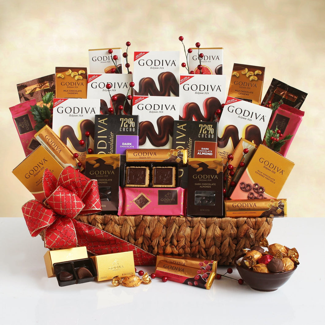 Godiva Overload - Vogue Gift Baskets
