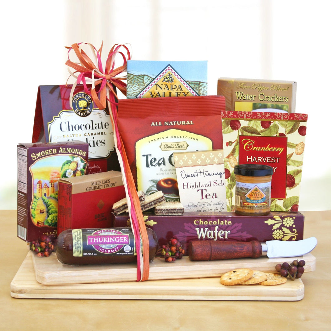 Gourmet Cheese and Snack - Vogue Gift Baskets