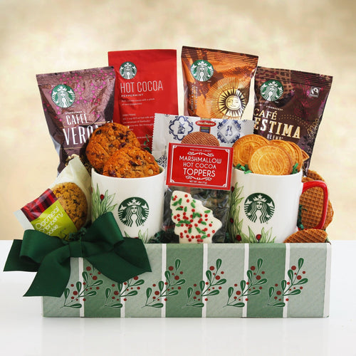 Holly Jolly Starbucks - Vogue Gift Baskets