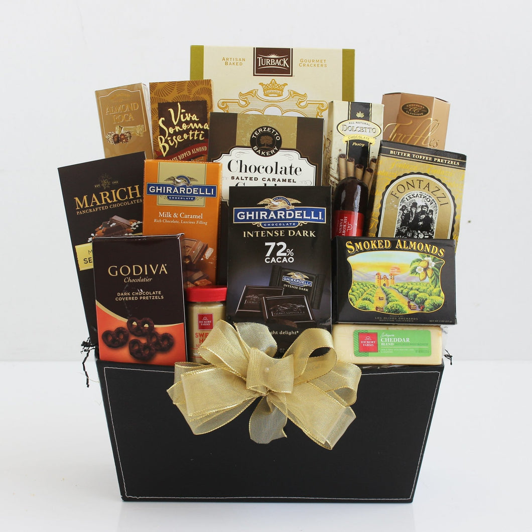 Luxury Gourmet Basket - Vogue Gift Baskets
