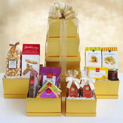 Mom's Ultimate Treats Tower - Vogue Gift Baskets