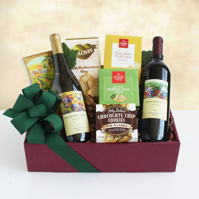 Sip and Savor Gift Box - Vogue Gift Baskets