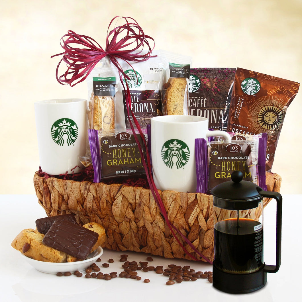 Starbucks Keepsake - Vogue Gift Baskets
