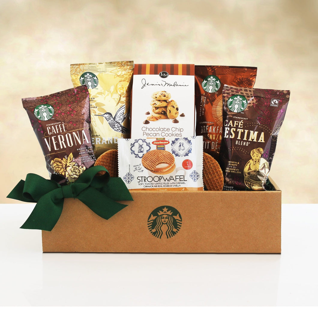 Starbucks Sampler - Vogue Gift Baskets