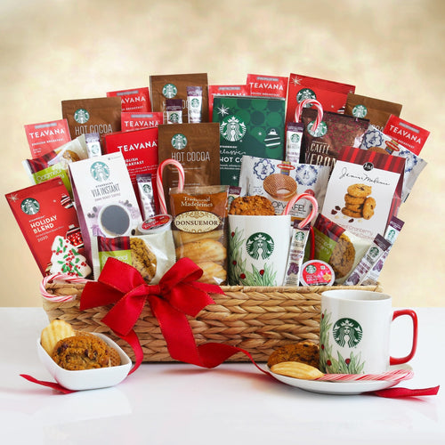 Super-sized Starbucks Holiday - Vogue Gift Baskets