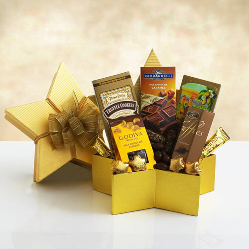 Sweet and Salty Star - Vogue Gift Baskets