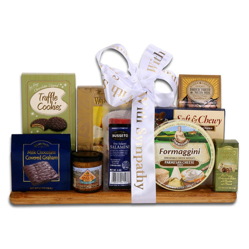Sympathy, Gourmet Cutting Board - Vogue Gift Baskets