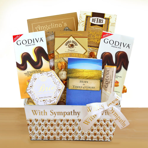 Sympathy, Hope and Healing - Vogue Gift Baskets