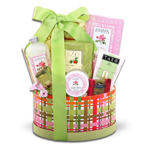 Tea Rose Dream - Vogue Gift Baskets
