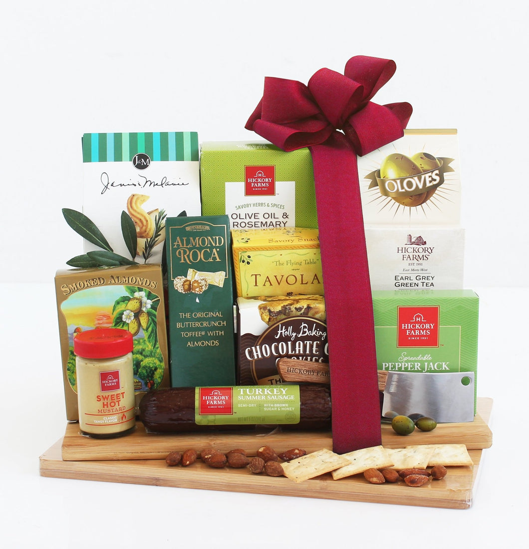 Ultimate Cheeseboard - Vogue Gift Baskets