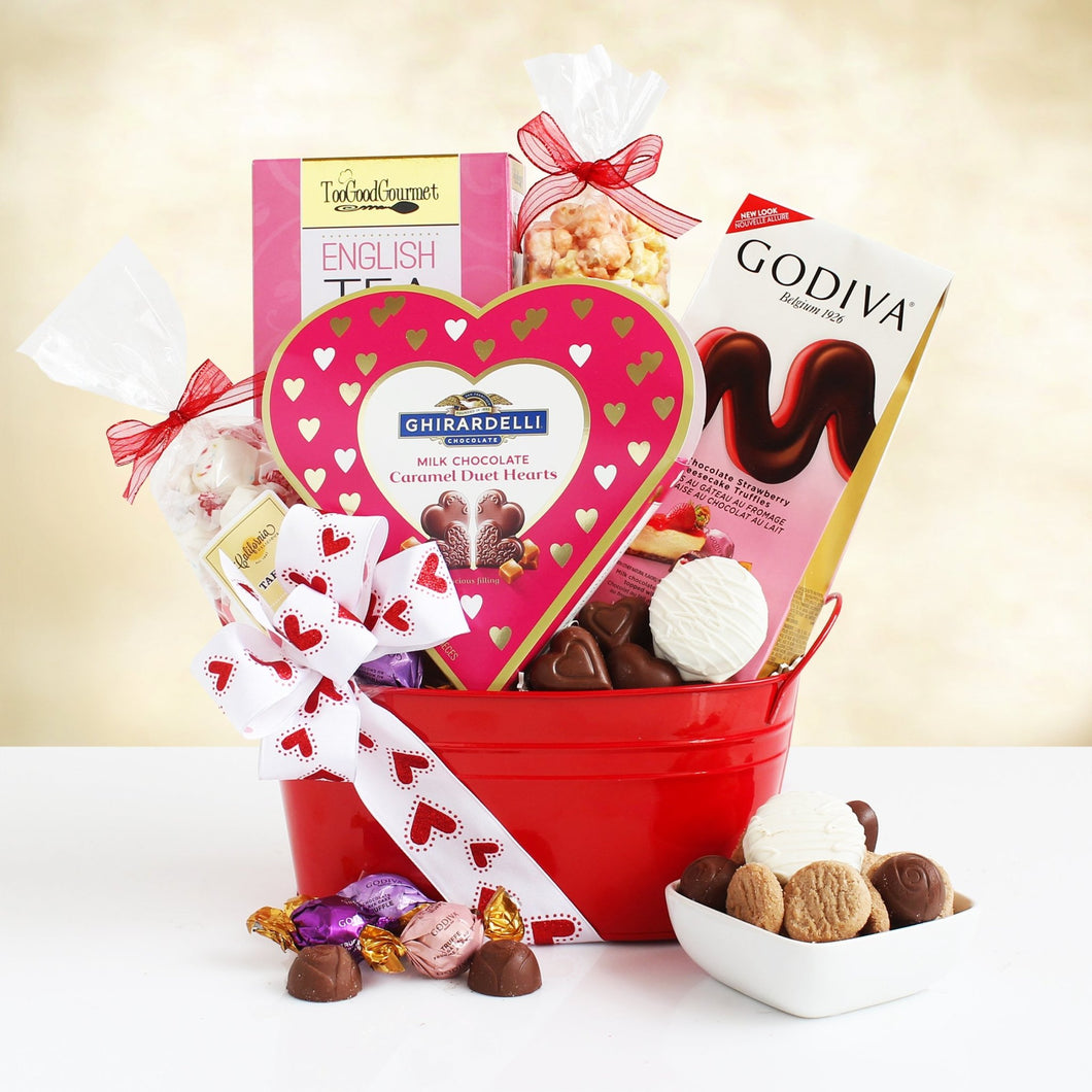 Valentine's Day Love and Affection - Vogue Gift Baskets
