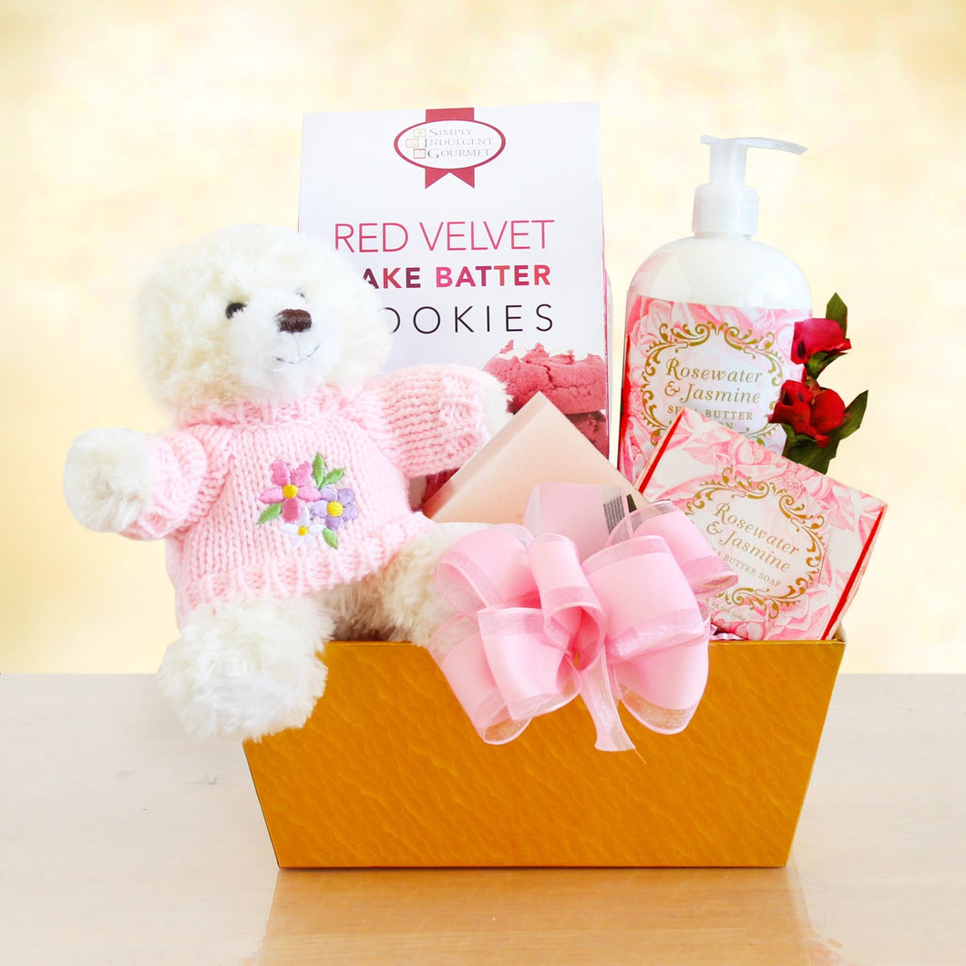 Valentine's Rosewater Spa - Vogue Gift Baskets