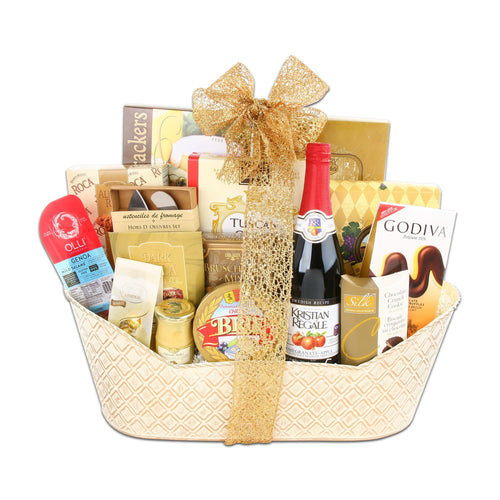 VIP Gourmet Basket - Vogue Gift Baskets
