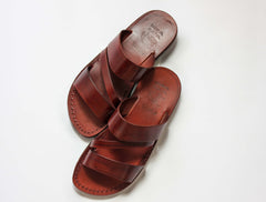 Easy wear  FLIPFLOP JESUS Leather Sandals for women .