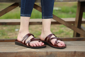 Ring toe Slippers   Jesus Sandals for women