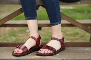 Genuine Leather Sandals for women
