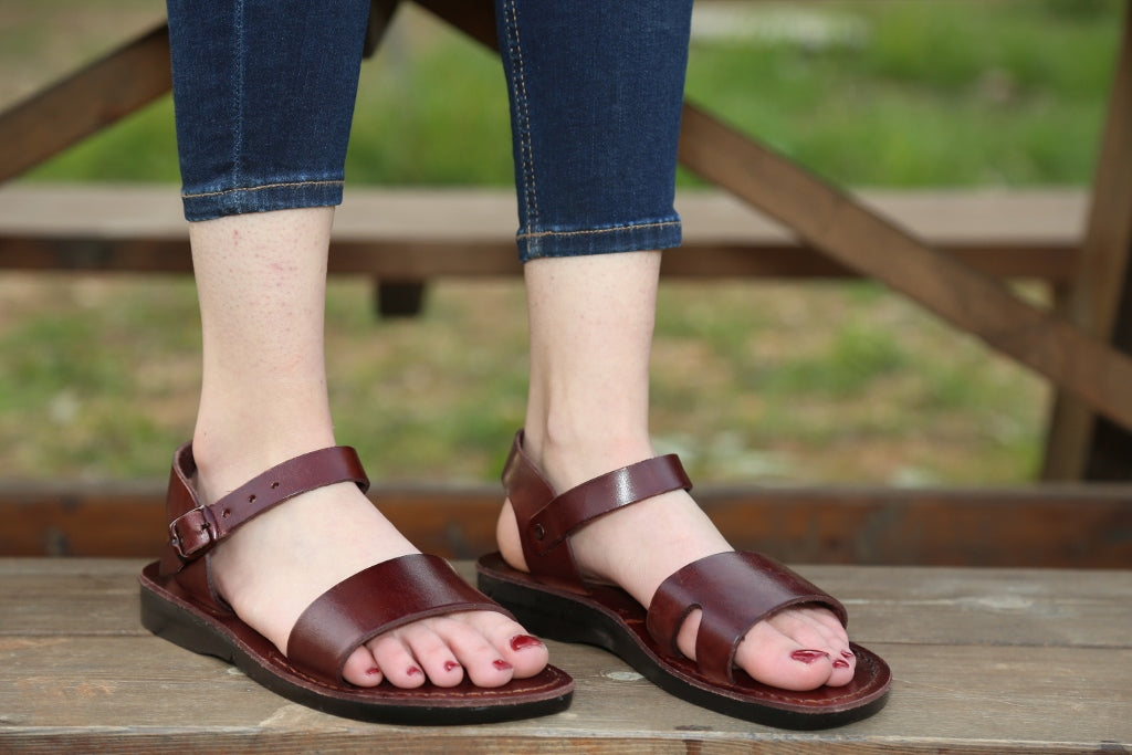 one front strap comfort   Jesus Sandals for women