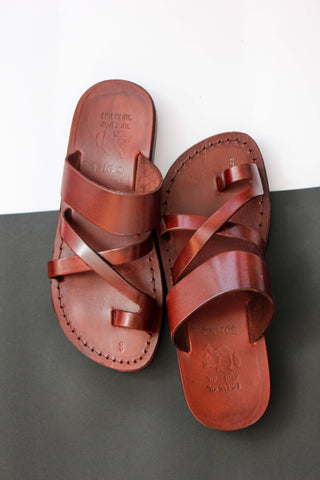 FLIPFLOP JESUS Leather Sandals for women .