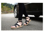 Ankle Strap Casual Ladies Flat Sandals