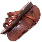 Two straps sandals Genuine Leather Sandals for women Special offer