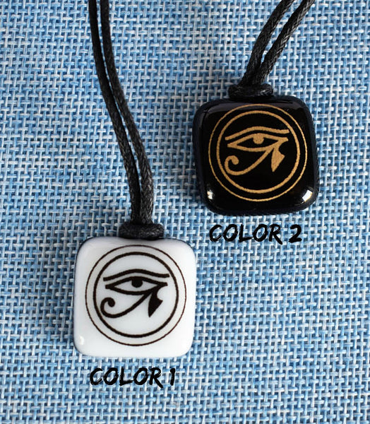 Eye of Horus necklace Symbol protection Egyptian eye