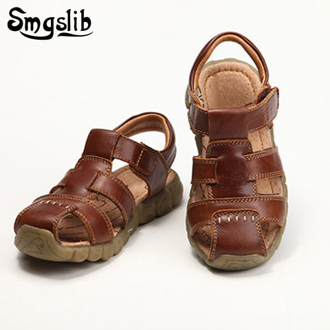 Casual Comfortable Genuine Leather boys Sandals