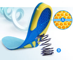 Silicon Gel Insoles Foot Care for Plantar Fasciitis