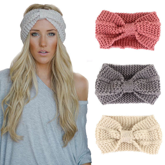 handsome Crochet Stretch Hairband for ladies