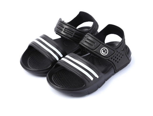 2a2f6ea5f0e0 New Listing 2018 Summer New Non-slip Beach Shoes Open Children s Sandals  Wild Boys Student