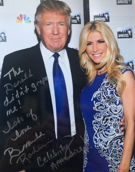 Celebrity Apprentice and Playboy Model Brande Roderick along with Donald Trump