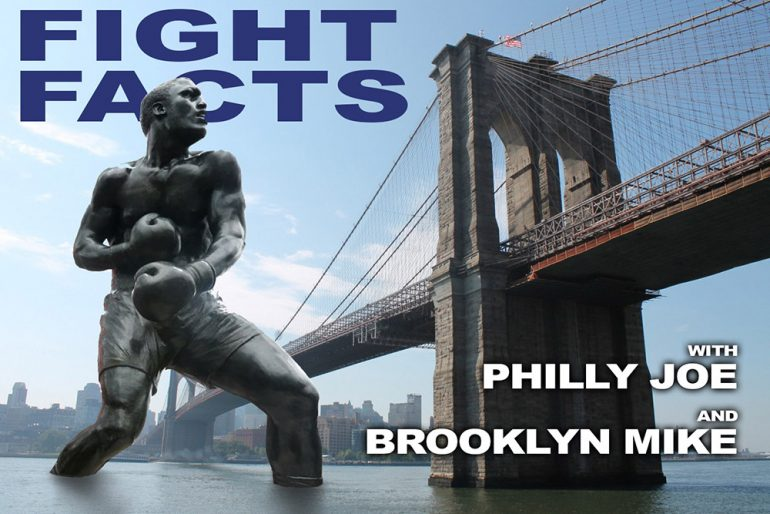 FIGHT FACTS PODCAST, EP. 18