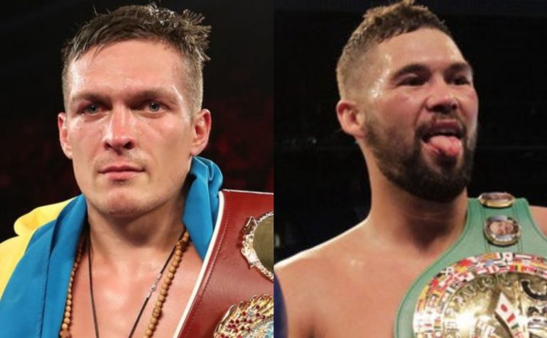 ALEKSANDR USYK-TONY BELLEW SET FOR NOVEMBER 10 IN MANCHESTER