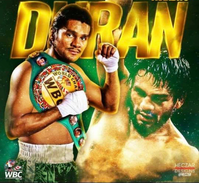 Roberto Duran Make be the best Boxer of all time!
