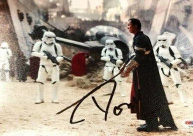DONNIE YEN SIGNED 8X10 PHOTO STAR WARS ROGUE ONE AUTOGRAPHED PSA COA