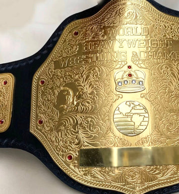 The World Heavyweight Championship wrestling belt
