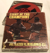 Ali Autographed Super Rare 8mm Film Album Cover hand signed