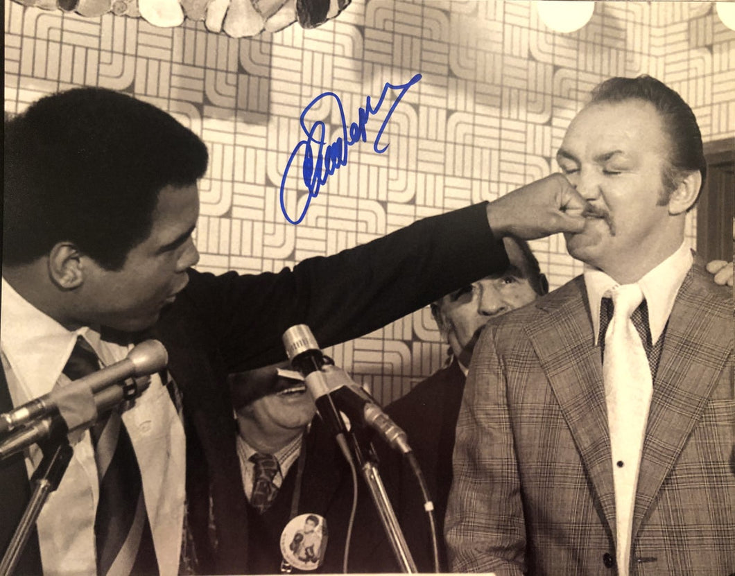 Copy of Chuck Wepner vs Muhammad Ali Autographed signed 8x10 boxing photo