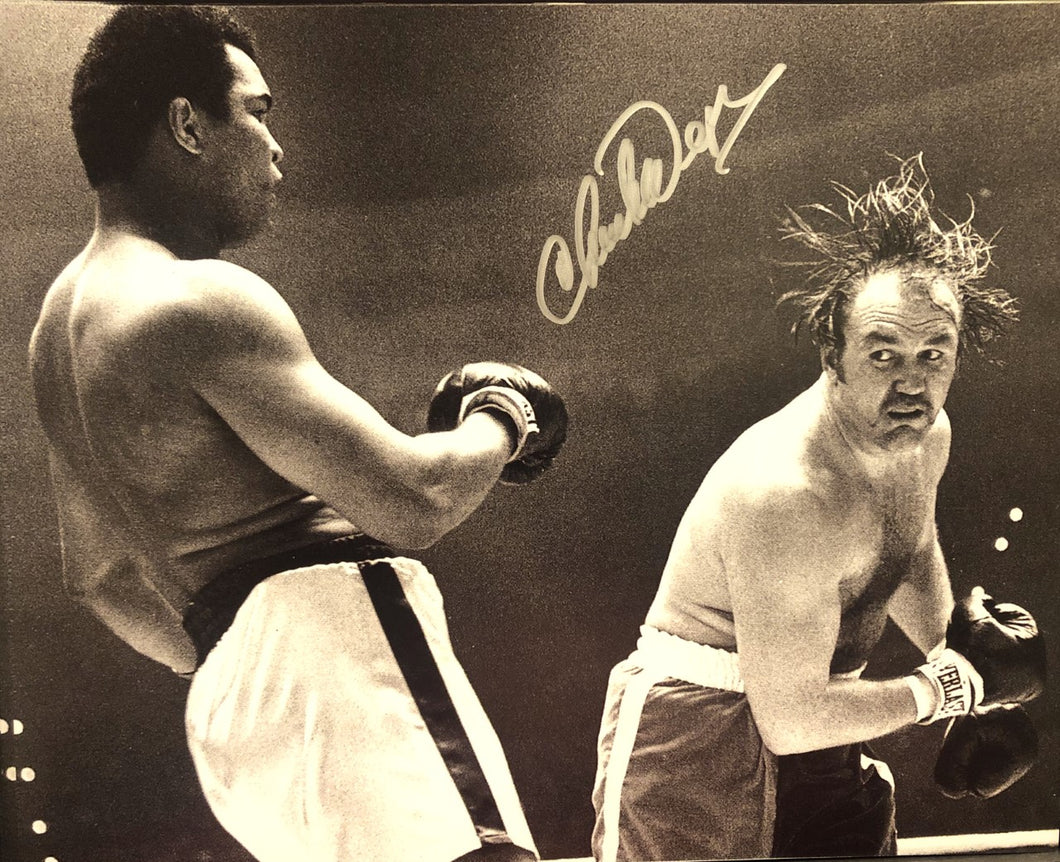 Chuck Wepner vs Muhammad Ali Autographed signed 8x10 boxing photo