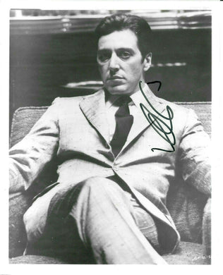 AL PACINO SCARFACE HAND SIGNED AUTOGRAPHED 8X10 GLOSSY PHOTO WITH COA