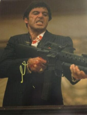 AL PACINO signed 11x14 photo SCARFACE EXACT PROOF