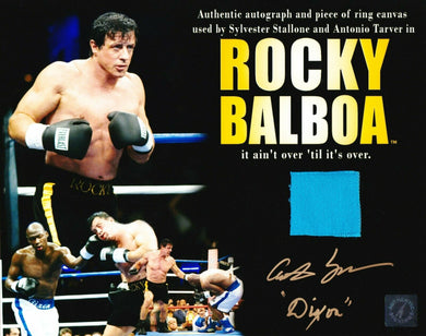 Antonio Tarver w/ Stallone Autographed ROCKY BALBOA 8x10 Used Ring ASI Proof
