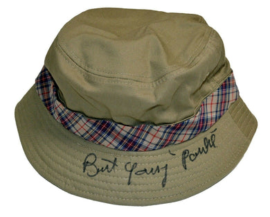 Burt Young Paulie ROCKY BALBOA Autographed Fisherman's Hat ASI Proof
