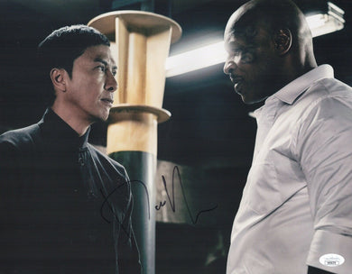 DONNIE YEN Signed 11x14 IP MAN Photo In Person STAR WARS Autograph JSA COA Cert