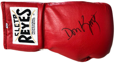 Hall of Famer Don King Autographed Red Rare Reyes Boxing Glove